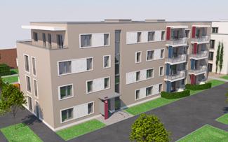"""HumboldtEck, Haus Alexander, Neubau der WBG""""Treptow Nord"""" eG"""