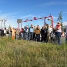 Tag des Vertreters Hausbesorgers am Baugrundstück HumboldtEck, 27.08.2014