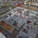Baustelle HumboldtEck von oben, 18.07.2016