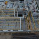 Baustelle HumboldtEck von oben, 09.08.2016
