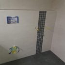 Baustelle HumboldtEck - Vorbereitung Musterbad, 08.02.2017