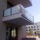 Baustelle HumboldtEck - Montage der Balkone, 06.06.2017