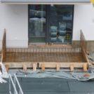Baustelle HumboldtEck - Vorbereitung der Terrassen, 06.06.2017