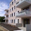 Baustelle HumboldtEck - Montage der Balkone, 09.06.2017