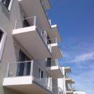 Baustelle HumboldtEck - Außenansicht Balkone, 13.06.2017