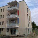 Baustelle HumboldtEck - Außenansicht Balkone, 11.07.2017